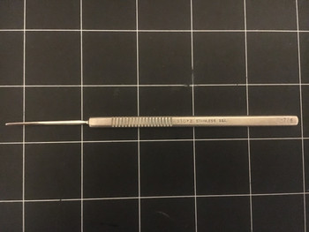 """Photo of Storz E0706 Iris Spatula 1mm, 5.1"""""""