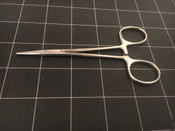 Photo of Codman Classic 34-4000 Halsted Mosquito Forceps, Straight, 5""