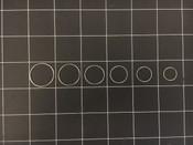 Photo of Storz Flieringa Fixation Ring Set, Sizes 21, 19, 17, 16, 15 & 13mm