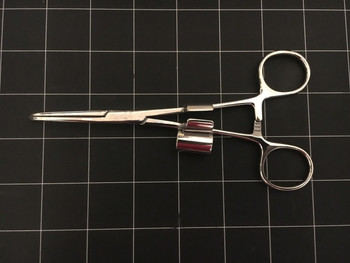 """Photo of NEW Pilling 536275 Lore Suction Tube Holding Forceps, 6.25"""""""