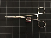 Photo of NEW Pilling 536275 Lore Suction Tube Holding Forceps, 6.25""