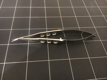 Photo of NEW Pilling P24604 Stern-Gills Scissors, Angled, 4.75""