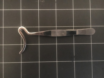 Photo of Storz E-2507 Ophthalmic Locking Ptosis Forceps, 4.25""