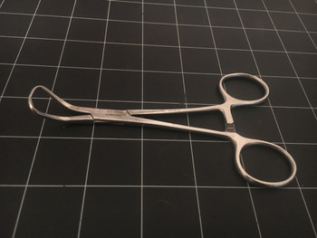 Photo of V. Mueller SU2905 Backhaus Towel Forceps, 5.25""