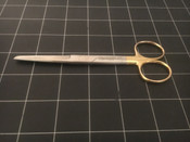 Photo of Codman Classic Plus 36-5040 Operating Scissors, Straight, TC Edges, 5.5""