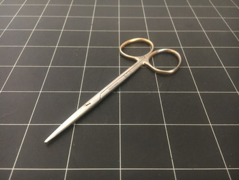 Tip photo of Pilling 14-4319 Strabismus Scissors, TC, Straight, 4.5""