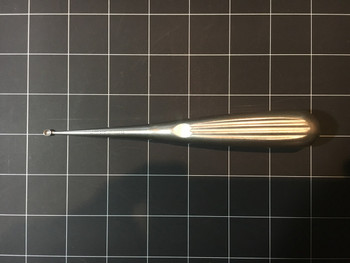 Front view photo of Aesculap FK612 Bone Curette