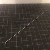Photo of Aesculap P0678R Laparoscopic Dolphin Nose Forceps Insert, 5mm