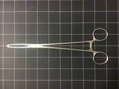 Left side photo of Aesculap EO202 Jacobs Uterine Tenaculum Forcep