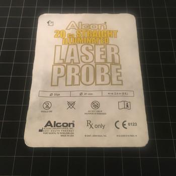 Photo of Alcon 8065750986 Straight Illuminated Laser Probe, 20G