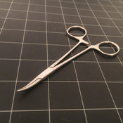 Photo of Sklar 17-1550 Curved Halsted Mosquito Forceps, 5""