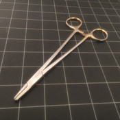 Photo of Weck 510151 Mayo Hegar Broad Bulldog Needle Holder, TC, 7""