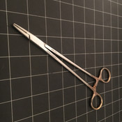 Photo of BBM NH02-234 Mayo Hegar Needle Holder, TC, 8""