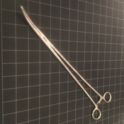 Photo of Symmetry Surgical 52-5306 Heaney Hysterectomy Forceps, 14""