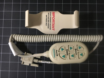 Front view photo of Carroll Bed PNDT-6FNC Hand Control Pendant