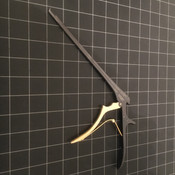 Photo of Aesculap FK963B Kerrison Rongeur Punch, 130 dg Up, 3mm, 8""