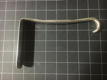 Left side view Aesculap EL579 Jackson Vaginal Retractor