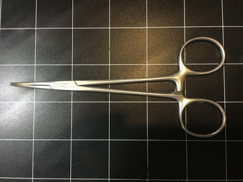 Top view photo of Aesculap BH131R Providence-Hospital Curved Forceps