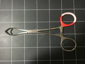 Top view photo of Pilling 12-1655 EDNA Towel Forceps