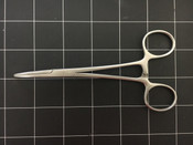 Top view photo of Columbia Curved Crile Artery Forceps