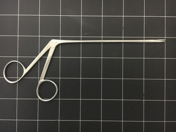 Right side photo of API PA77-220L Straight Duckbill Nasal Forceps