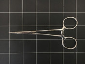 Bottom view photo of Codman Classic Plus 33-4001 Halsted Curved Mosquito Forcep