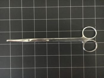 "Left side photo of Weck 460871 Curved Metzenbaum Scissors 7"""