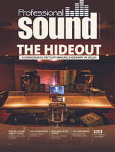 The October 2018 edition of Professional Sound is now available. In this issue we look at The Hideout and a Canadian Ex-Pat's Hit-Making Hideaway in Vegas. Acclaimed Canadian producer & engineer Kevin Churko & his team – including several family members – are creating world-class recordings in their Las Vegas facility Written by Brent Loehr
