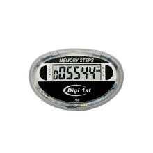 Digi 1st P-150 Dual Step Pedometer. Switches to view daily and cumulative step records.Buy custom pedometers in bulk with our great discounted bulk prices now!