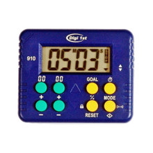 Digi 1st T-910 99 minutes 59 seconds Count Up/Down Digital Desk Timer. Custom Imprinting available. This timer can have some special application because of its percentage function. Its perfect to be used as a lab timer, kitchen timer, classroom timer, meditation timer, and so on.