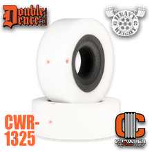 """Double Deuce 6.0"""" Heavy Weight Comp Cut Inner / Medium Outer & Tuning Ring"""