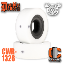 """Double Deuce 6.0"""" Heavy Weight Comp Cut Inner / Firm Outer & Tuning Ring"""
