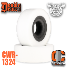 """Double Deuce 6.0"""" Heavy Weight Comp Cut Inner / Soft Outer & Tuning Ring"""