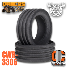 "Deuce's Wild Heavy Weight Single Stage for 1.9 Tires; 3.85""-3.45"" Tall Foam Pair (2)"