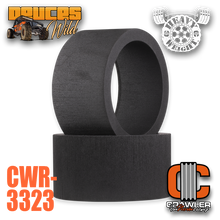 Deuce's Wild Single Stage Heavy Weight for HPI Baja 5T / 5SC REAR Foam Pair (2)