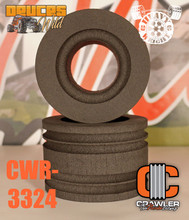 "Deuce's Wild Heavy Weight Single Stage Foam Pair for 2.2"" MT Tires; 3.0"" Wide; 4.95""-5.35"" Tall"