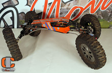 Super Class XR10 Crawler; $2500 ARTR; Y Town Carbon Fiber; Ti links; Sedona Tires; 1/1