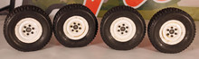 1.9 Bead locks (used) w/ New PBX AT tires w/ CI Foam SET (4)