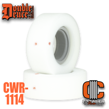 """Double Deuce 5.5"""" Loaded Dice Inner w/ Medium Outer + Tuning Ring"""