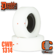 """Double Deuce 5.5"""" Heavy Weight Loaded Dice Inner w/ Medium Outer + Tuning Ring"""
