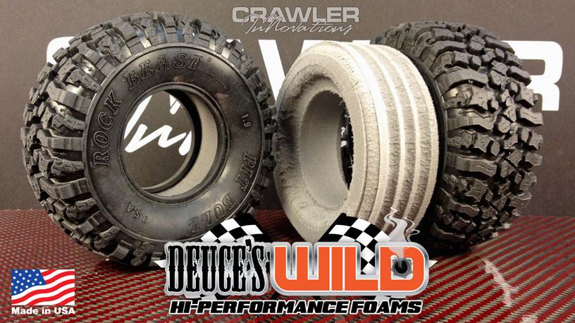 Deuce S Wild Single Stage 1 9 Pitbull Rock Beast Foam Pair Crawler Innovations