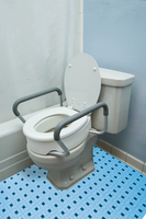 Raised Toilet Seat With Arms (Standard)