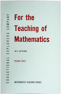 For The Teaching of Mathematics Volume III