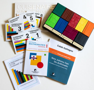 Starter Pack B plastic Cuisenaire® Rods (NEW BOOKS)