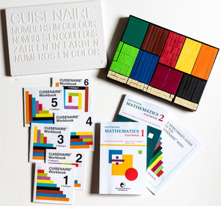 Starter Pack A plastic Cuisenaire® Rods (NEW BOOKS)
