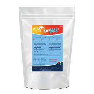 Performance supplement for race horses.