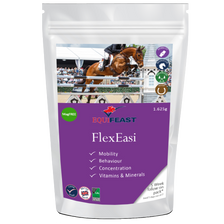 Behavioural and mobility support, combined with a vitamin and mineral balancer.