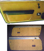 Porsche 914 Door Panel Kit, 914 '69-'76, Choose Color