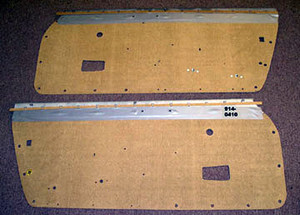 Porsche 914, Door Panel Boards, Masonite, Pair, All 914