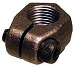 Porsche 914-4 Axle Nut, Front, RightSide